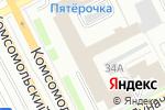 Схема проезда до компании A1 Night Print в Перми