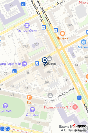 Алор Брокер на карте Перми