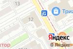 Схема проезда до компании Perec в Перми