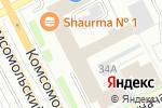Схема проезда до компании BarБургер в Перми