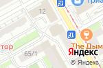 Схема проезда до компании Уномоменто в Перми