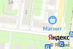 Схема проезда до компании Глазовский в Перми
