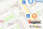 Схема проезда до компании Мастер-Флок в Перми