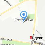 БИГмолл.рф на карте Перми
