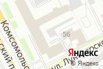 Схема проезда до компании ЭйДжи Экспертс в Перми