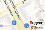 Схема проезда до компании Fresh Art в Перми