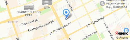 Всероссийский Азербайджанский конгресс на карте Перми