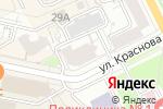Схема проезда до компании Старм в Перми