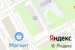 Схема проезда до компании Селена в Перми