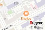 Схема проезда до компании IBERIA в Перми