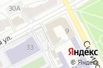 Схема проезда до компании Ариадна в Перми