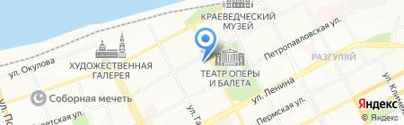 Уральские ресурсы на карте Перми