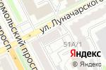 Схема проезда до компании Dusya Style в Перми