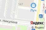 Схема проезда до компании Виват в Перми