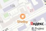 Схема проезда до компании Гастрономическая лавка Ольги Дылдиной в Перми