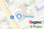 Схема проезда до компании ЧудоГрад в Перми