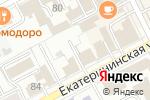Схема проезда до компании Платная круглосуточная парковка в Перми