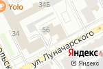 Схема проезда до компании РесурсТехКомплект в Перми