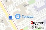 Схема проезда до компании Центр в Перми