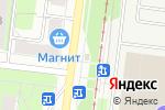 Схема проезда до компании Киоск по ремонту обуви в Перми