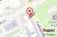 Схема проезда до компании Омкара в Перми