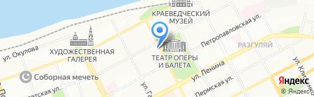 Алла-Тур на карте Перми