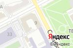 Схема проезда до компании Офис М в Перми