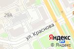 Схема проезда до компании БлинСити в Перми