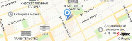 Extra на карте Перми