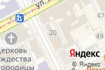 Схема проезда до компании Мобиле Лайт в Перми