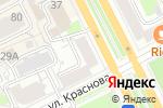 Схема проезда до компании Канцлеръ в Перми