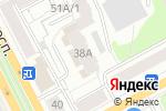 Схема проезда до компании Гостевой дом 59 в Перми