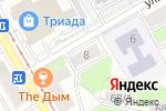 Схема проезда до компании Алькор-М в Перми