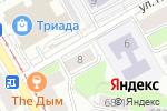 Схема проезда до компании Златушка в Перми