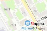 Схема проезда до компании Беляши-Пермяши в Перми