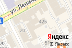 Схема проезда до компании Триумф в Перми