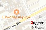 Схема проезда до компании Свободное пространство в Перми