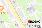 Схема проезда до компании Доставка59 в Перми