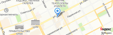 Калейдоскоп-тур на карте Перми