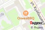 Схема проезда до компании Клевер в Перми