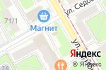 Схема проезда до компании Мир цветов в Перми