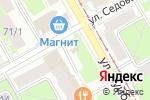 Схема проезда до компании Ермолинские полуфабрикаты в Перми