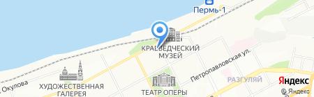 ПермГражданСтрой на карте Перми