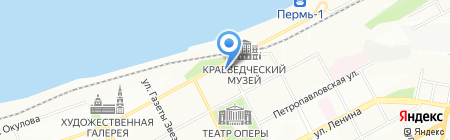 Стэп на карте Перми
