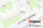 Схема проезда до компании Мет-Ком в Перми