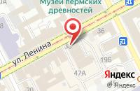 Схема проезда до компании Местное Время в Перми