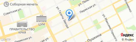 Химсорб на карте Перми