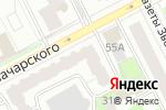 Схема проезда до компании Tortolino Gallery в Перми