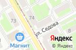 Схема проезда до компании Ритуал-сервис в Перми