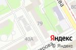 Схема проезда до компании ИнфоТЭК Инжиниринг в Перми